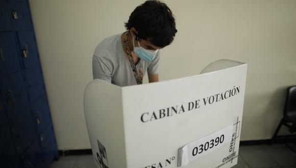 Conoce cómo emitir un voto válido en estas Elecciones Generales 2021. (Foto: Anthony Niño de Guzmán/@photo.gec)