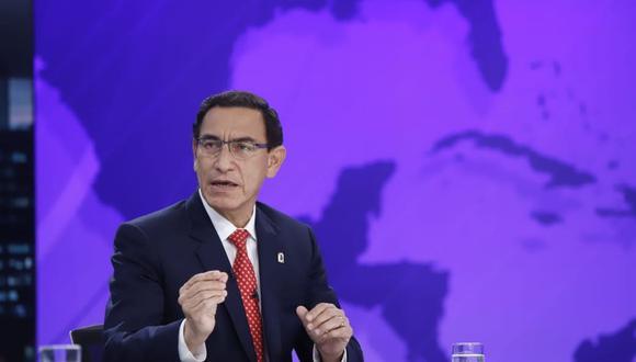 El presidente Martín Vizcarra (Foto: Presidencia de la República)
