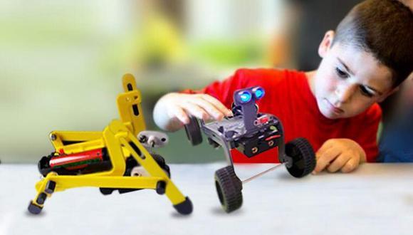 Carreras de robótica se enseñan desde los cinco años de edad. (Difusión)