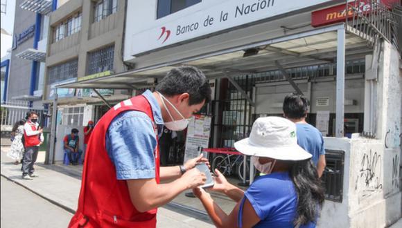 El bono 600 soles se entrega a familias vulnerables para afrontar sus gastos en medio de la pandemia del COVID-19. (Foto: GEC)