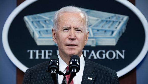 """Tras asumir Biden el 20 de enero, su gobierno anunció que revertirá las medidas más polémicas y creó un grupo de trabajo para reunir a las familias que siguen separadas, una política a la cual calificó como """"una vergüenza"""". (Foto: SAUL LOEB / AFP)."""