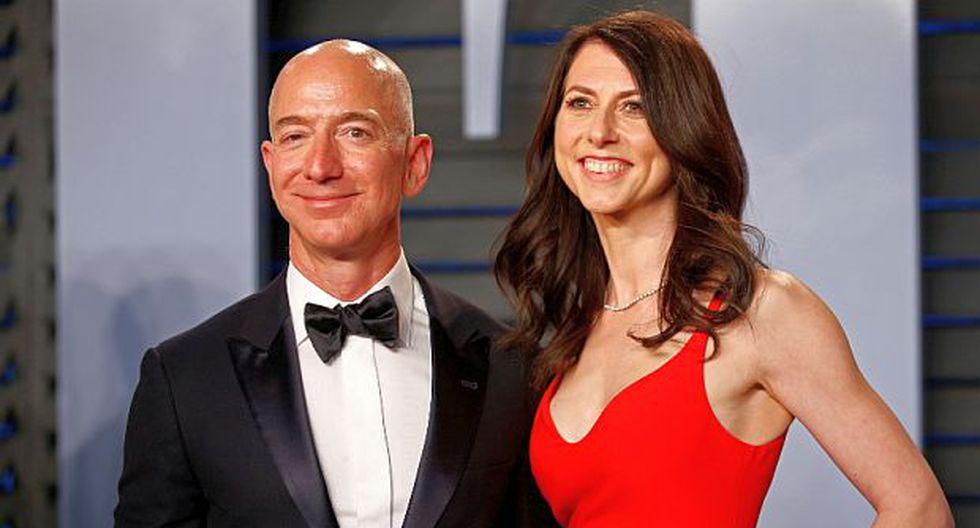 El divorcio entre MacKenzie Bezos y Jeff Bezos, fundador de Amazon, culminará en un plazo de aproximadamente 90 días. (Foto: Reuters)<br>