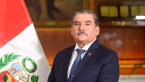 Cluber Fernando Aliaga Lodtmann,  ministro del Interior. (Foto: Mininter)