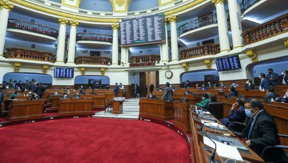 El proceso de selección de magistrados del TC pasó a un cuarto intermedio el último jueves. (Foto: Congreso de la República)