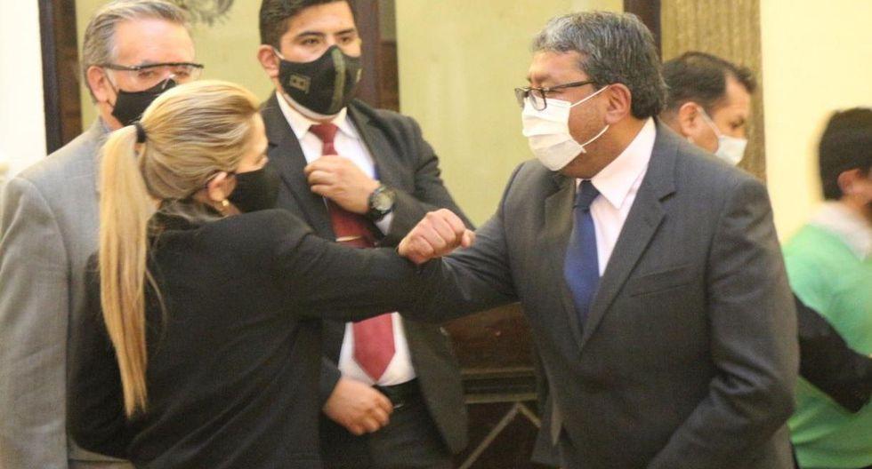 El ministro de Minería de Bolivia, Jorge Fernando Oropeza, dio positivo por coronavirus. (Twitter: @oropeza_teran).