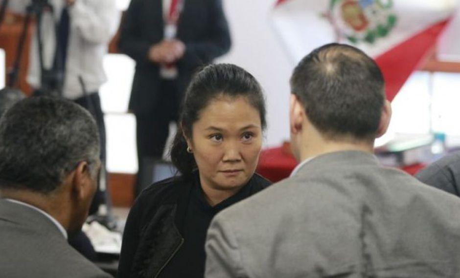 Keiko Fujimori presentó una casación ante la Corte Suprema, la cual redujo la prisión preventiva de 36 a 18 mmeses. (Foto: GEC)