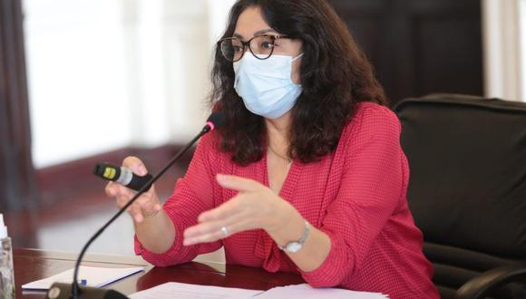 """Bermúdez reiteró su pedido a los líderes políticos y a sus agrupaciones para que insten a sus simpatizantes a """"no reunirse"""" para no producir aglomeraciones. (Foto: PCM)"""
