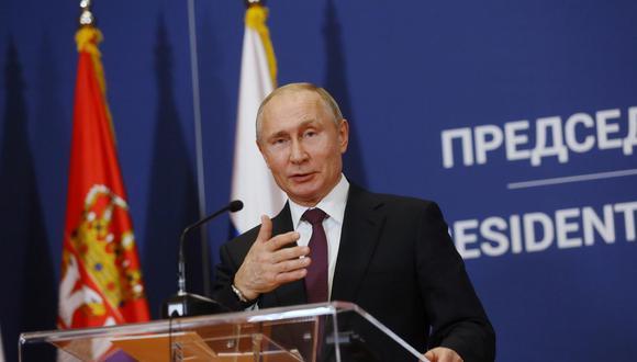 Vladimir Putin. (Foto: Bloomberg).