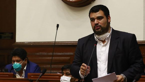 Vicepresidente Guillermo Aliaga informó que se investiga a la persona que lanzó insultos contra el presidente Vizcarra. (Foto: Congreso)