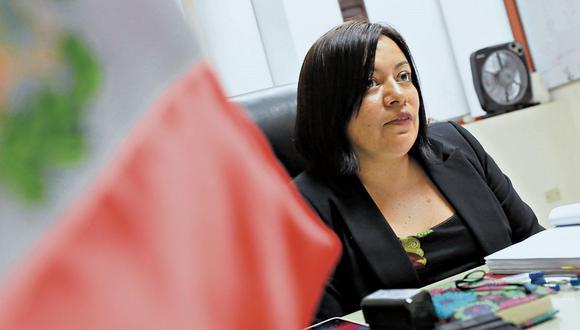 La fiscal Geovana Mori investiga los pagos ilícitos de Odebrecht en el Gasoducto Sur. (Foto: Piko Tamashiro)