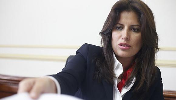 Omonte, actual vocera alterna de APP, fue ministra de la Mujer durante el gobierno de Ollanta Humala. (Foto: Dante Piaggio | GEC)