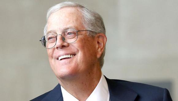 David Koch fue uno de los dos hermanos que junto a Charles crearon Koch Industries, un conglomerado de empresas de comercio, inversiones y fábricas que les ha permitido tener una inmensa fortuna. (EFE)