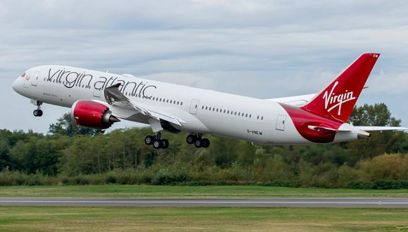 Virgin Atlantic, con sede en Inglaterra, es una empresa fundada por el multimillonario Richard Branson. (Foto: Boeing)
