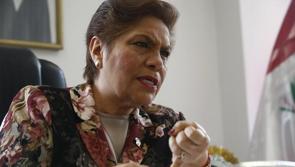 """""""Ha debido ya estar afuera, sin embargo son cosas que ocurren en nuestro país"""", dijo Luz Salgado (Foto: GEC)"""
