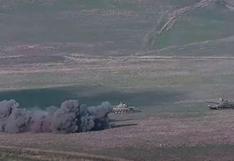 Combates entre Armenia y Azerbaiyán en Nagorno Karabaj dejan más de 24 muertos