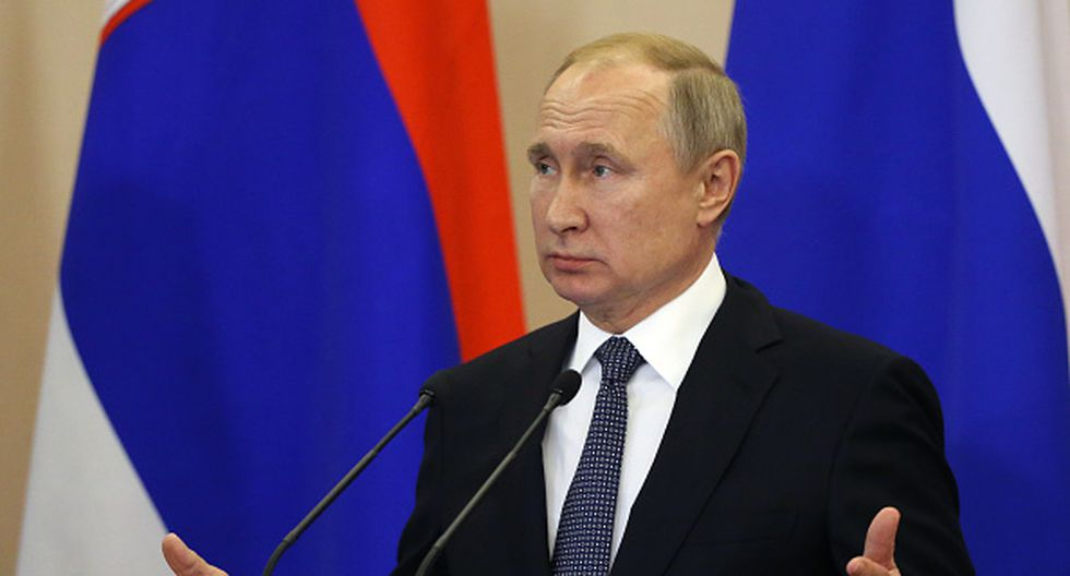 Vladimir Putin. (GETTY)