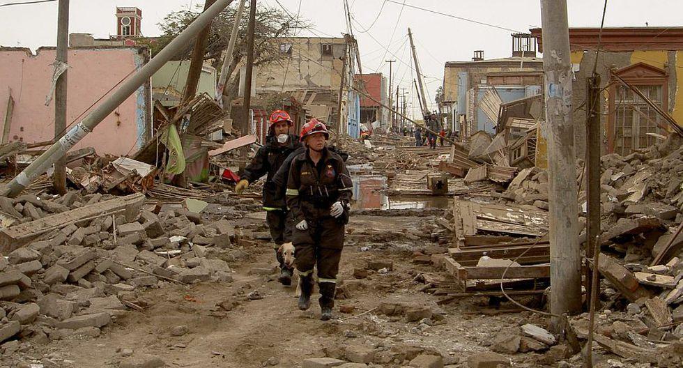 Terremoto. (Foto referencial: EFE)