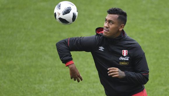 Renato Tapia dijo no recordar nada de lo que sucedió el pasado sábado. (Foto: AFP)