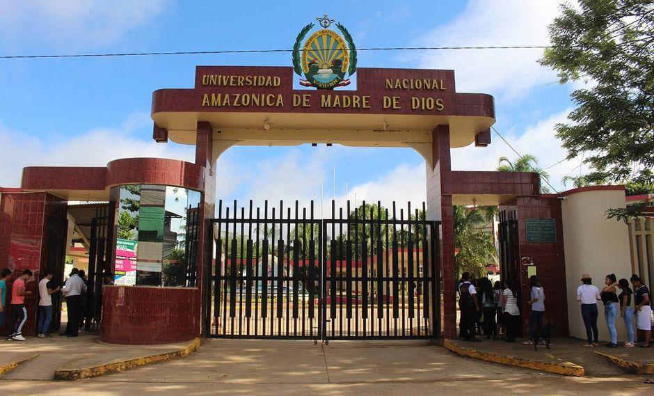 Sunedu reconoció que la Universidad Nacional Amazónica de Madre de Dios cuenta con doce programas de estudios. (Foto: UNAMAD).