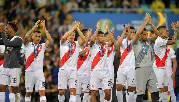 La selección nacional, subcampeona de América. (Foto: AFP)