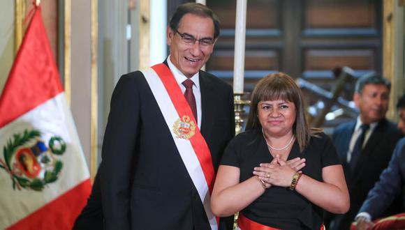 Zulema Tomás renunció tras ser envuelta en denuncias sobre contrataciones de familiares. (Foto: Andina)
