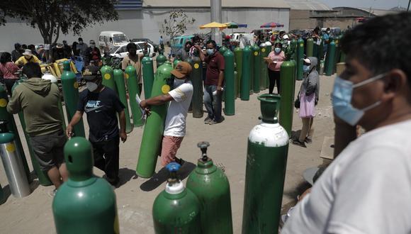 El ministro de Salud, Óscar Ugarte, anunció que se llegó a un acuerdo con la UNI sobre el tema de las plantas de oxígeno. (Foto: GEC)