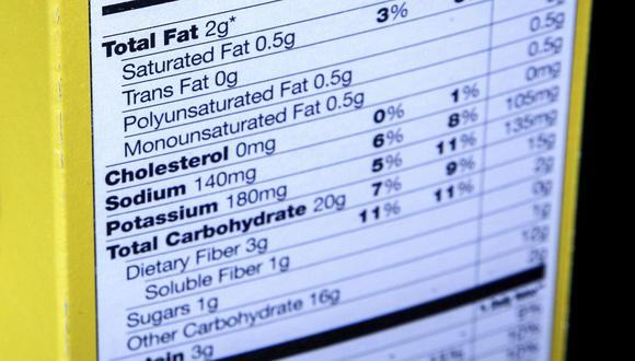 Los nuevos objetivos de niveles de sodio de la FDA apuntan a reducir, durante los próximos dos años y medio, la ingesta promedio en un 12%, de 3,400 a 3,000 miligramos por día. (Foto: AP Photo/J. David Ake, File) (AP2014)