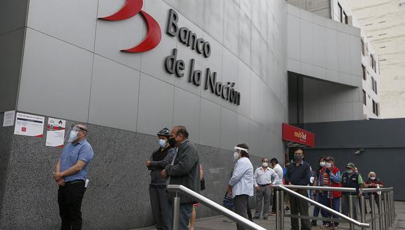 Cartera. Créditos del BN, que solo atiende a trabajadores públicos, sumaron S/ 7,780 millones a marzo.  (Foto: Andrés Paredes | GEC)