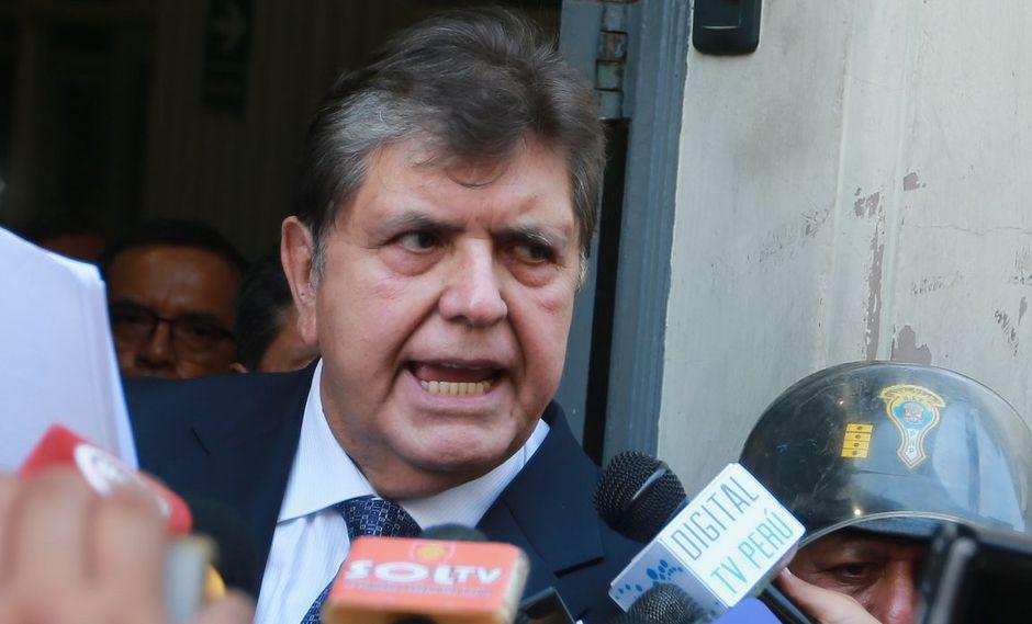 Alan García se encuentra en Perú para declarar por presuntos pagos de Odebrecht ante el fiscal José Domingo Pérez. (Foto: El Comercio / Lino Chipana)