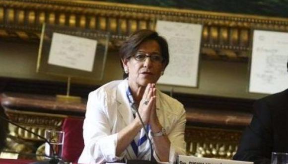 Susana Villarán deberá acudir al Congreso este lunes para responder por el proyecto Línea Amarilla. (Foto: GEC)