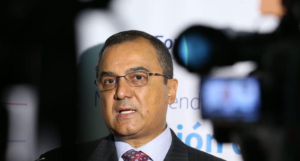 Carlos Oliva, ministro de Economía. (Foto: Manuel Melgar /  GEC)