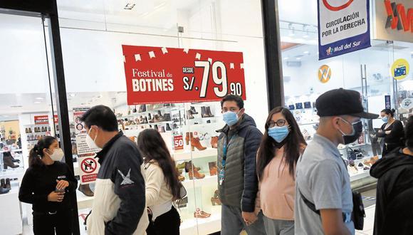 Preocupación. El 64% de limeños dijo estar preocupado ante coyuntura actual. (Foto: GEC   Diana Marcelo )