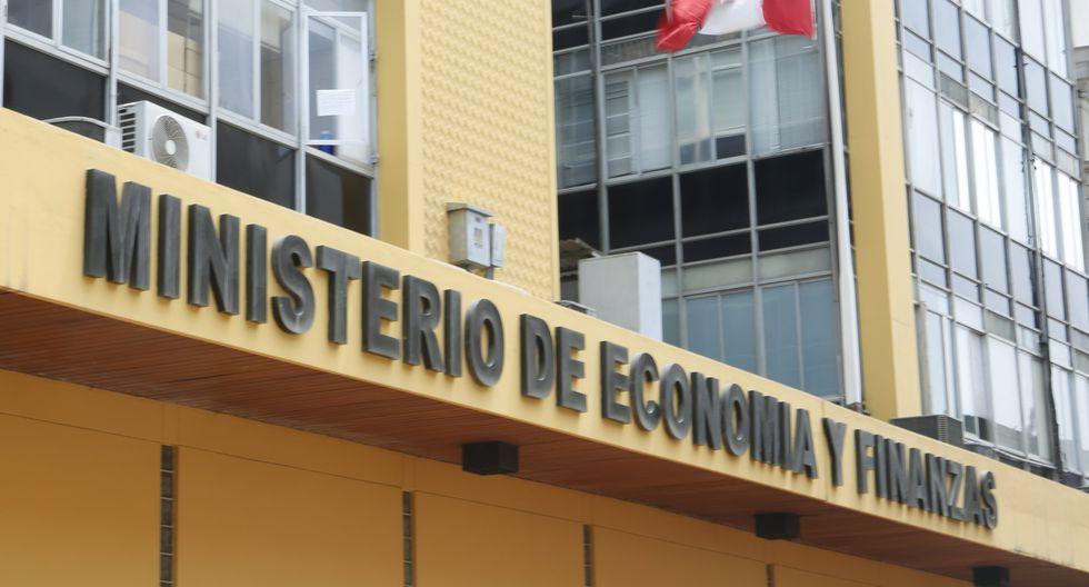 Ministerio de Economía y Finanzas. (Foto: GEC)