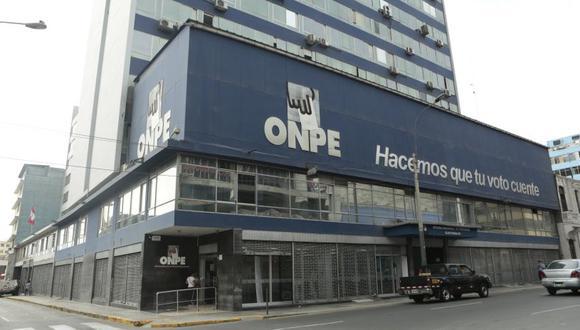 """La ONPE precisó que solo """"tiene la función de organizar la jornada electoral"""". (Foto: El Comercio)"""