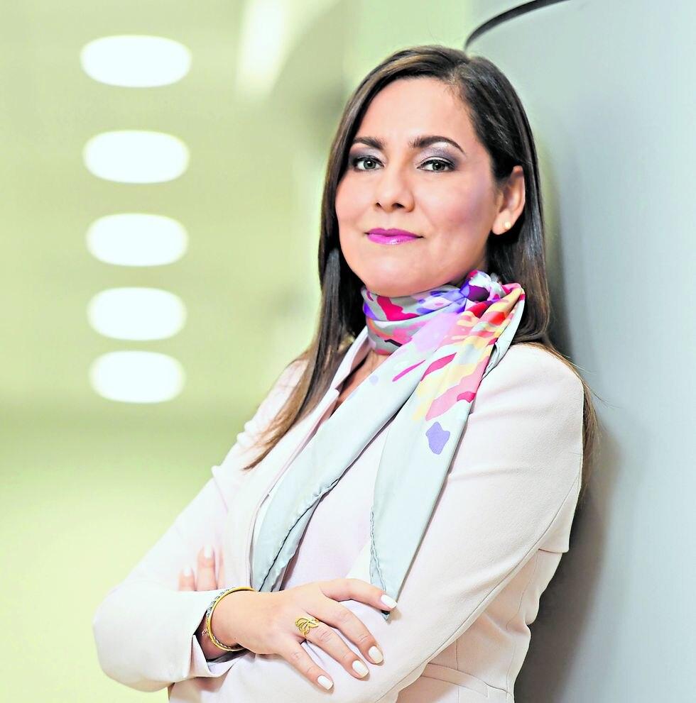 Claudia Suárez. Señala que se ha logrado reducir la tasa de morosidad del pago de los tributos por los contribuyentes. (Foto: Difusión)
