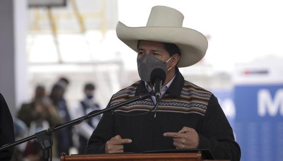 """Pedro Castillo comentó que han sido elegidos para trabajar y no responder """"mezquindades"""". (Foto: archivo GEC)"""
