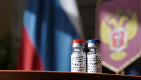 Antes de su publicación, el estudio ruso fue evaluado por un comité científico independiente, integrado por expertos en COVID-19 y en vacunas, recordó una portavoz de The Lancet. (Foto: Dmitry KURAKIN / Russia's Health Ministry / AFP)