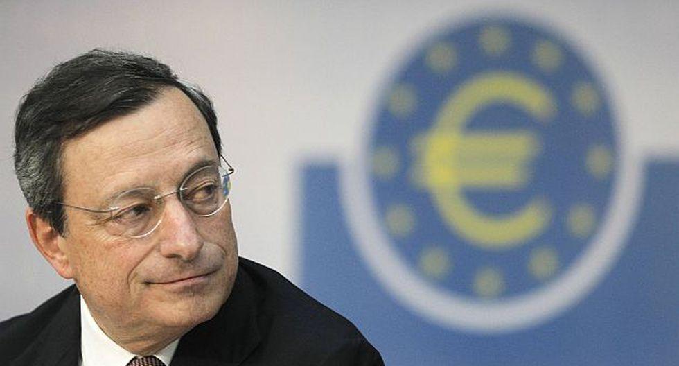 Presidente del BCE, Mario Draghi. (Reuters)