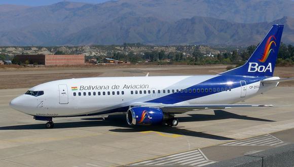 BoA opera desde el 2009 en coincidencia con la desaparición del estatal Lloyd Aéreo Boliviano (LAB) y de la aerolínea privada Aerosur, ambas por quiebra.