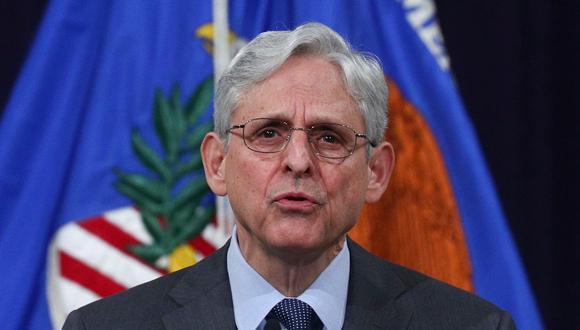 El fiscal general de EE.UU., Merrick Garland. (Foto:  EFE/Tom Brenner)