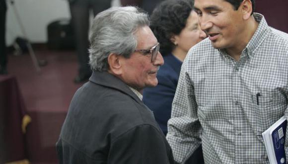 El cabecilla de Sendero Luminoso, Abimael Guzmán Reinoso, purga cadena perpetua en la Base Naval del Callao. (Foto: Lino Chipana/ GEC)