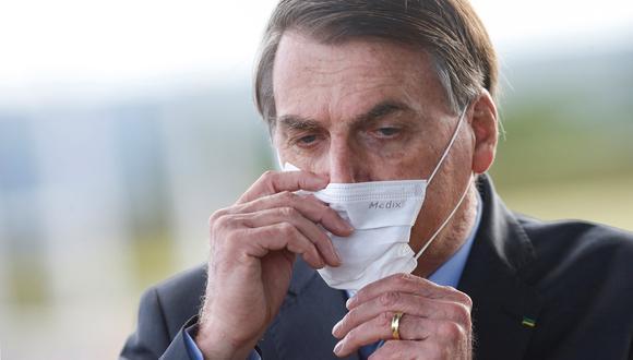 Jair Bolsonaro, presidente de Brasil. Foto: REUTERS/Adriano Machado