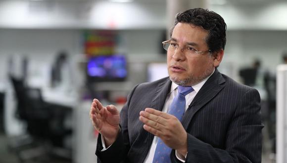 Rubén Vargas presentó su renuncia tras dos semanas como Ministro del Interior. (Foto: GEC)