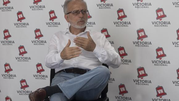 Jorge Chávez Álvarez es jefe del plan de gobierno de Victoria Nacional y candidato al Congreso
