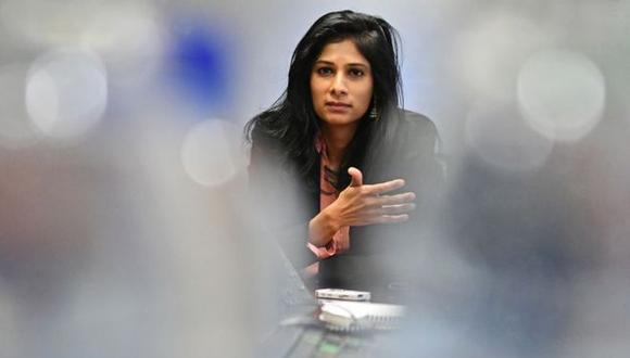 Gita Gopinath. (Foto: Bloomberg)