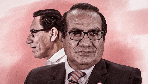 Óscar Vásquez renunció a su cargo hace tres días, según informó la ministra de Justicia, Ana Neyra. (Composición: El Comercio)