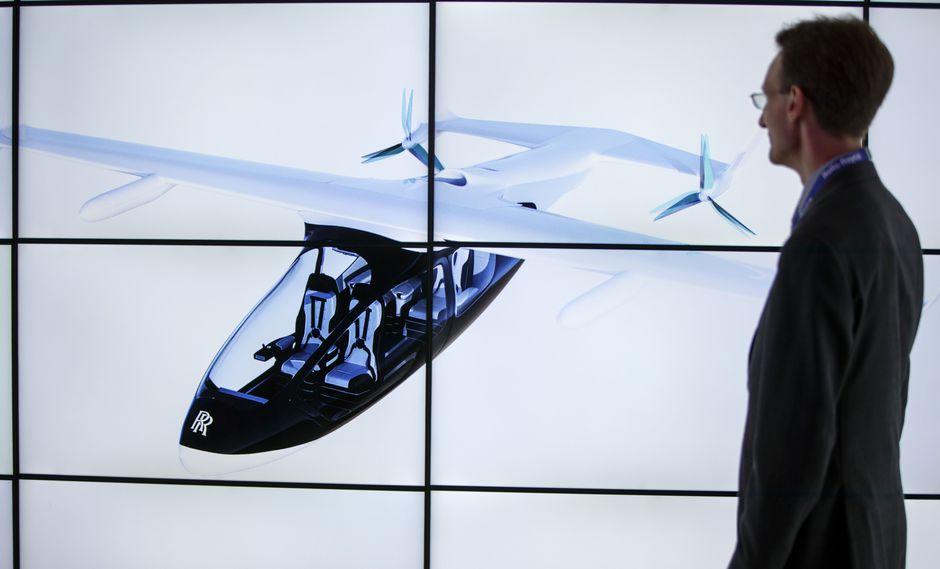Rolls Royce anunció sus planes en el Salón Aeronáutico de Farnborough. (Foto: AFP)