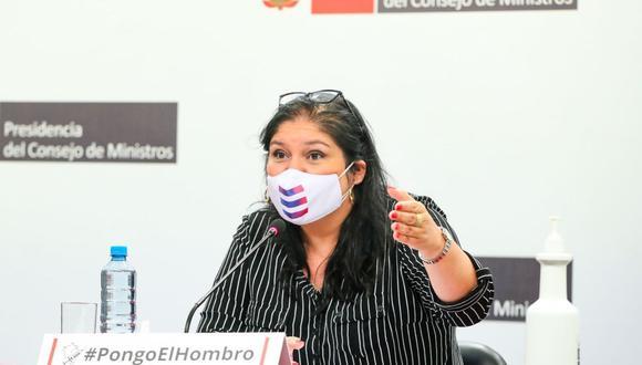Nuria Esparch dijo que el INPE será el que decida si se traslada o no a Vladimiro Montesinos a otro penal. (Foto: Andina)