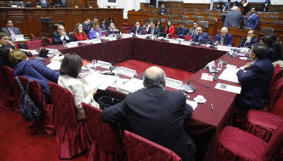 La Comisión de Constitución no pudo someter a voto los cambios al artículo de la reelección presidencial. (Foto: Difusión)