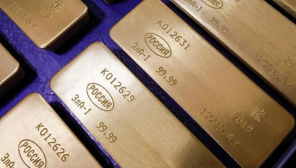 Los futuros del oro estadounidense GCcv1 subieron 0.1% a $ 1,498.40. (Foto: Reuters)